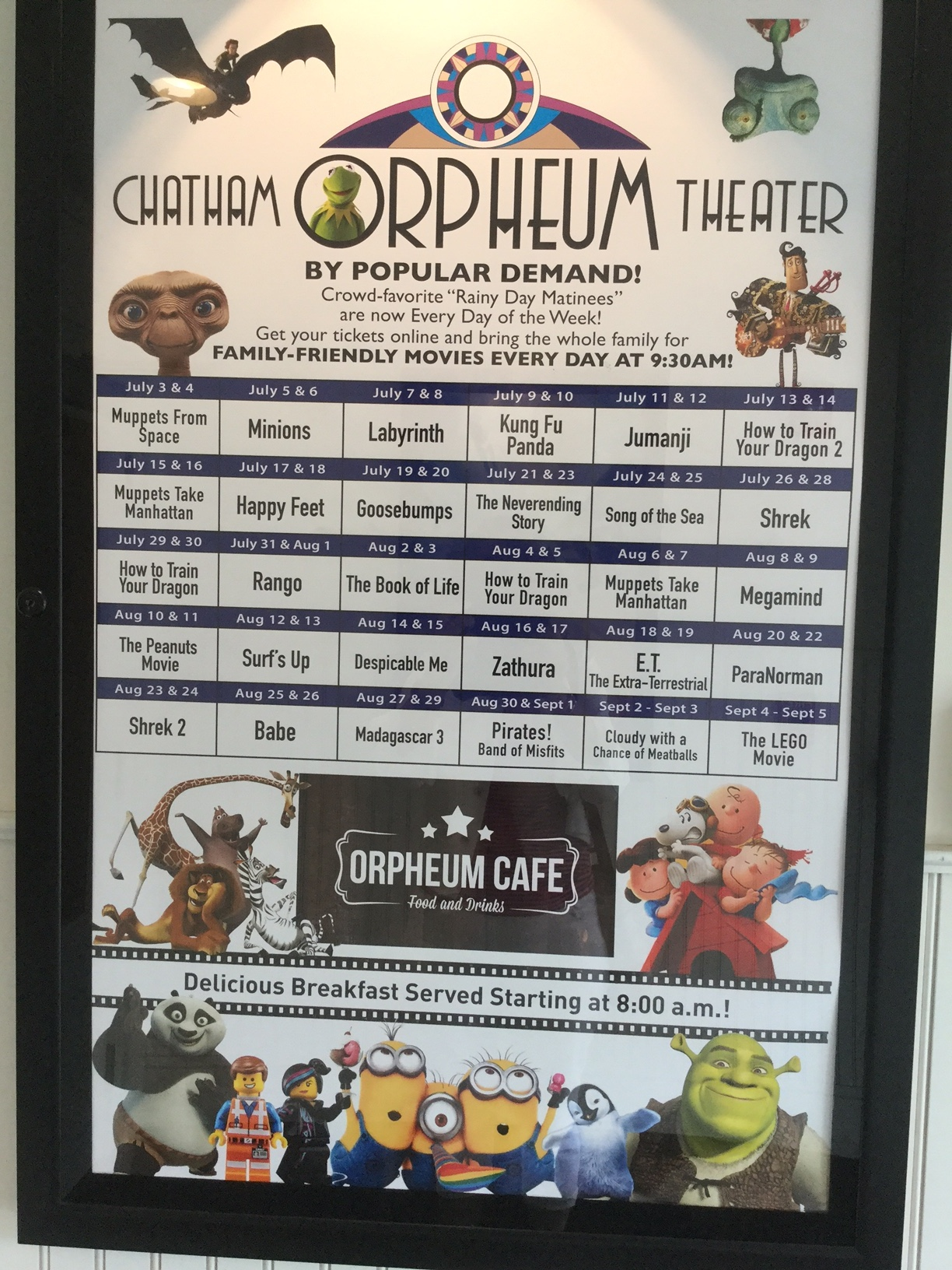 Chatham Orpheum Movie Poster