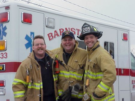 Barnstable ambulance and rescue team