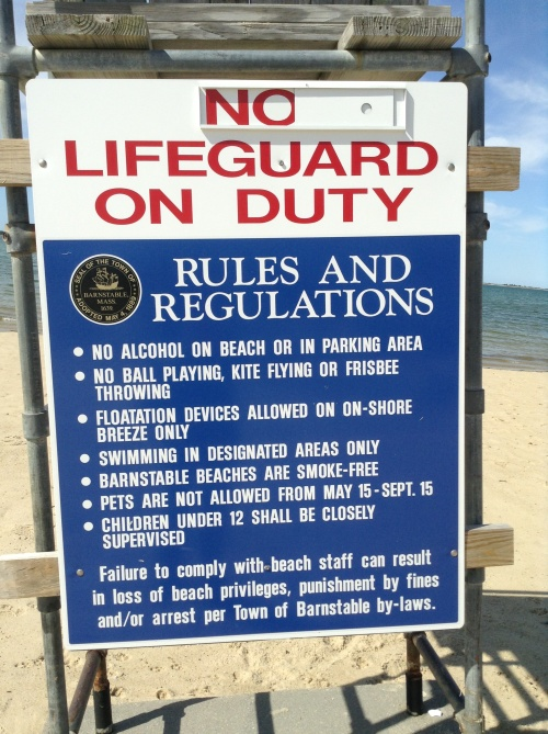 life-guard chair