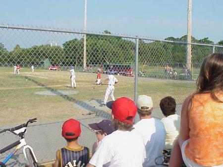 baseball stand