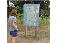 Ann reading trail map